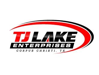 TJ LAKE Enterprises Corpus Christi, TX logo design
