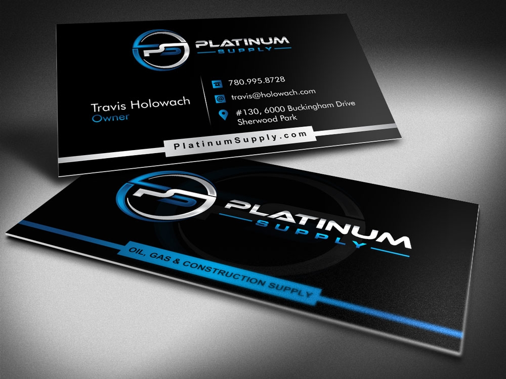 Platinum Supply brand identity winner
