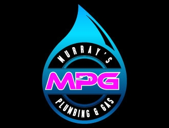 Murray's Plumbing and Gas logo design