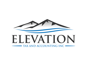 Elevation Tax and Accounting Inc logo design