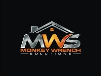 Monkey Wrench Solutions logo design winner