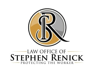 Law Office of Stephen Renick logo design