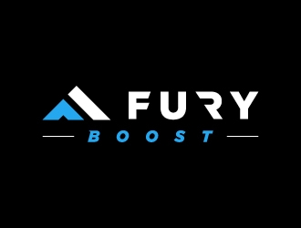 FURY logo design