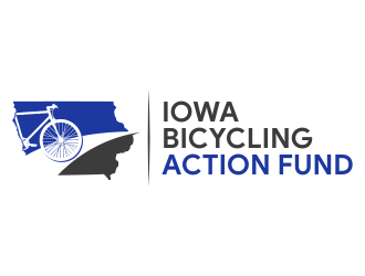 Iowa Bicycling Action Fund logo design