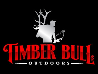 Timber Bull Outdoors  logo design