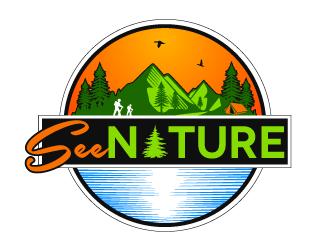 Seenature logo design