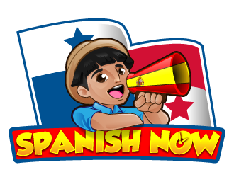 Spanish NOW logo design