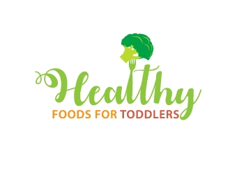 Healthy Foods for Toddlers logo design