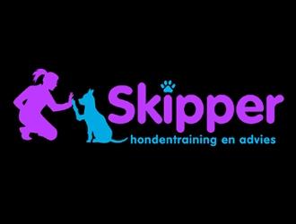 Skipper hondentraining en advies logo design