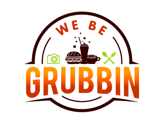 WE BE GRUBBIN logo design