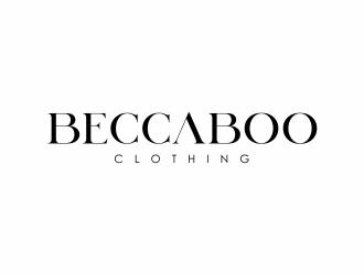 beccaboo  logo design