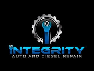 Integrity Auto and Diesel Repair logo design