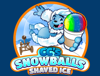 CCs Snowballs logo design winner