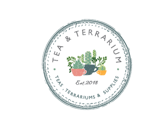 Tea & Terrarium logo design