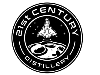 21st Century Distillery logo design winner