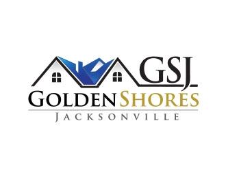 GSJ Golden Shores Jacksonville logo design