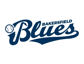 Bakersfield Blues logo design