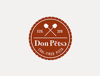 Don Pētsə logo design