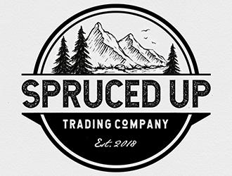 Spruced Up Trading Company logo design winner