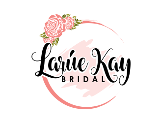 Larúe Kay Bridal Wedding Hair & Makeup or Larúe Kay Bridal  logo design