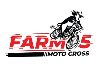 Farm 5 logo design
