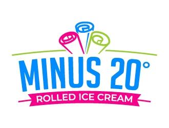 Minus 20° logo design