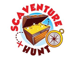 Scaventure Hunt logo design