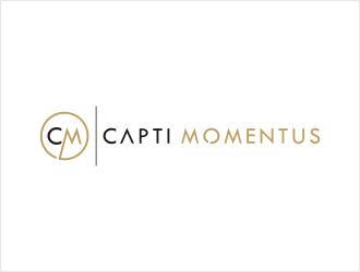Capti Momentus logo design winner