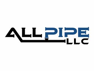 All Pipe LLC logo design winner