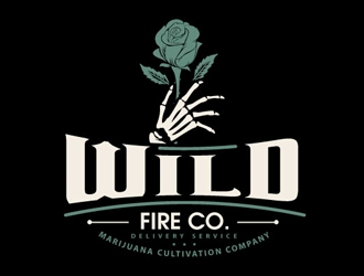 Wild Fire Co. logo design