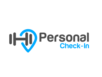 Personal Check-In logo design