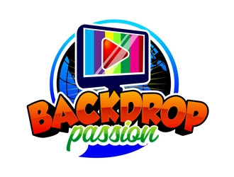 backdroppassion logo design