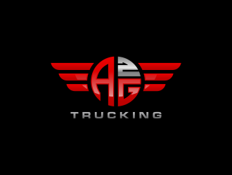 AG2 (Squared) Trucking  logo design