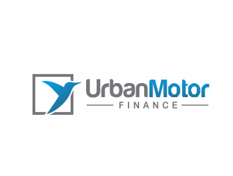 Urban Motor Finance logo design