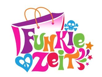 Funkie Zeit logo design
