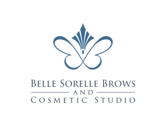 Belle Sorelle Brows and Cosmetic Studio Logo Design
