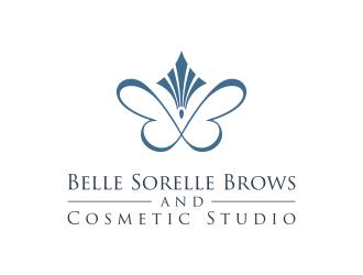 Belle Sorelle Brows and Cosmetic Studio logo design