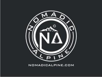 Nomadic Alpine logo design