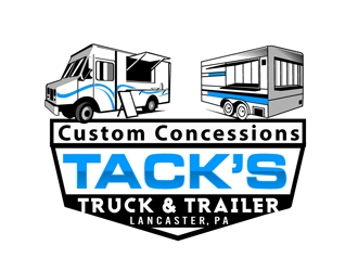 Tacks Truck & Trailer logo design