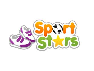 SportStars logo design