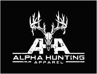 Alpha Hunting Apparel logo design