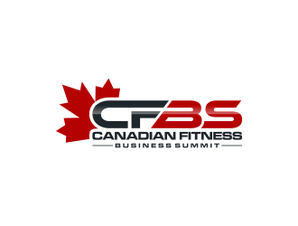 CFBS Canadian Fitness Business Summit logo design