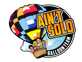 Aint Solo Balloon Team logo design