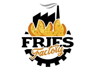 Fries Factory logo design