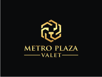 Metro Place Parking logo design