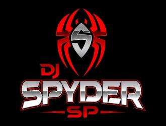 DJ SPYDER SP logo design - 48HoursLogo com