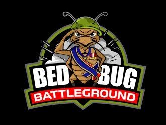 Bed Bug Battleground logo design