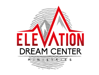Elevation Dream center ministries logo design