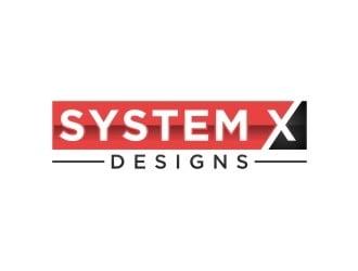 System X Designs logo design