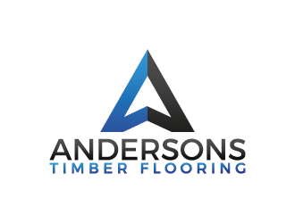 Andersons Timber Flooring logo design